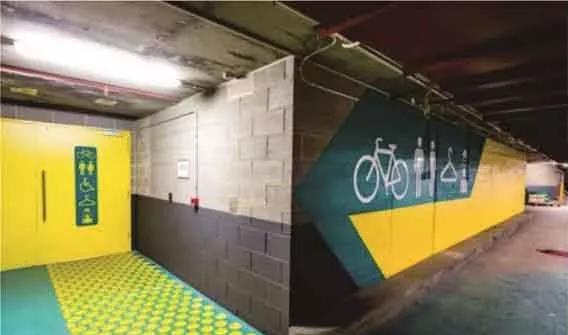 佛山地坪漆厂家在自行车车库中青睐的环氧地坪