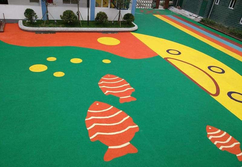 广州地坪涂料施工公司如何给幼儿园地面翻新?